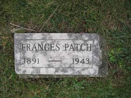 WOLFORD, FRANCES B. PATCH - Union County, Ohio | FRANCES B. PATCH WOLFORD - Ohio Gravestone Photos