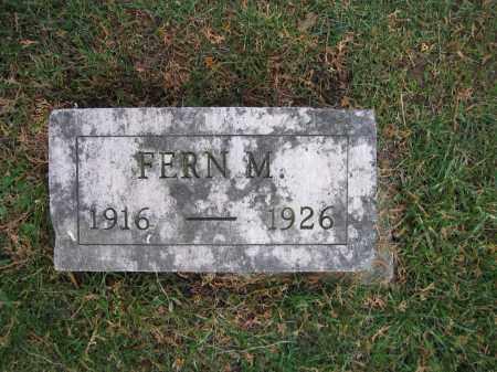 WOLFORD, FERN M. - Union County, Ohio | FERN M. WOLFORD - Ohio Gravestone Photos