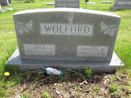 WOLFORD, BARBARA M. - Union County, Ohio | BARBARA M. WOLFORD - Ohio Gravestone Photos