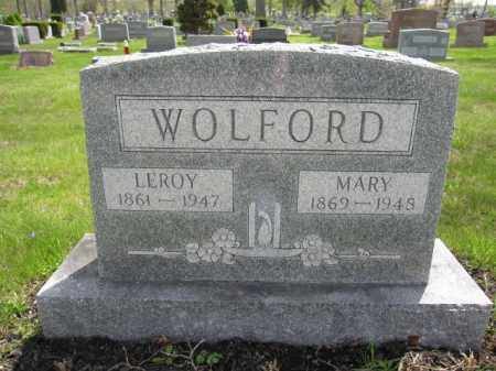 WOLFORD, LEROY - Union County, Ohio | LEROY WOLFORD - Ohio Gravestone Photos