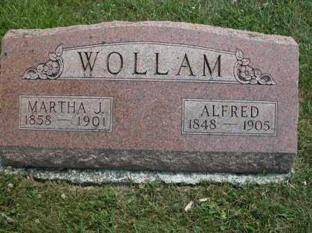 WOLLAM, MARTHA J. - Union County, Ohio | MARTHA J. WOLLAM - Ohio Gravestone Photos