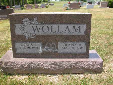 WOLLAM, DORIS J. - Union County, Ohio | DORIS J. WOLLAM - Ohio Gravestone Photos