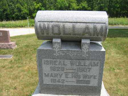 WOLLAM, MARY E. - Union County, Ohio | MARY E. WOLLAM - Ohio Gravestone Photos