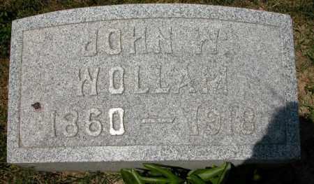 WOLLAM, JOHN W. - Union County, Ohio | JOHN W. WOLLAM - Ohio Gravestone Photos