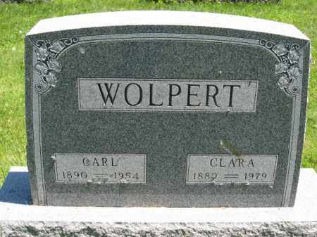 WOLPERT, CLARA - Union County, Ohio | CLARA WOLPERT - Ohio Gravestone Photos