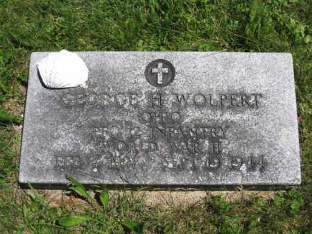 WOLPERT, GEORGE H. - Union County, Ohio | GEORGE H. WOLPERT - Ohio Gravestone Photos