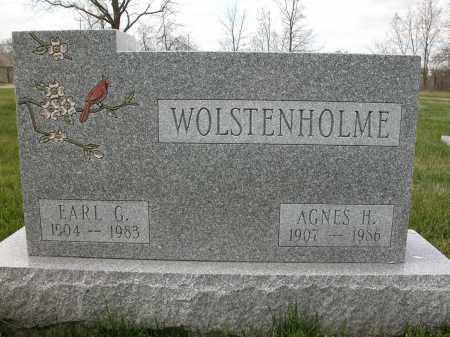 WOLSTENHOLME, AGNES H. - Union County, Ohio | AGNES H. WOLSTENHOLME - Ohio Gravestone Photos
