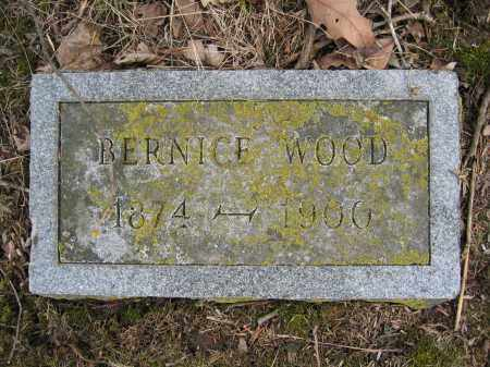 WOOD, BERNICE - Union County, Ohio | BERNICE WOOD - Ohio Gravestone Photos