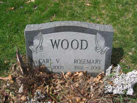 WOOD, ROSEMARY - Union County, Ohio | ROSEMARY WOOD - Ohio Gravestone Photos