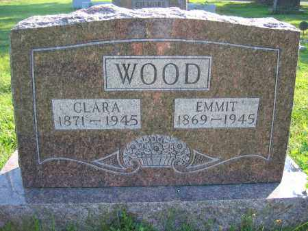 WOOD, CLARA - Union County, Ohio | CLARA WOOD - Ohio Gravestone Photos