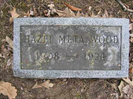 WOOD, HAZEL META - Union County, Ohio | HAZEL META WOOD - Ohio Gravestone Photos