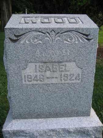WOOD, ISABEL - Union County, Ohio | ISABEL WOOD - Ohio Gravestone Photos