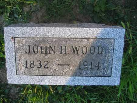 WOOD, JOHN H. - Union County, Ohio | JOHN H. WOOD - Ohio Gravestone Photos