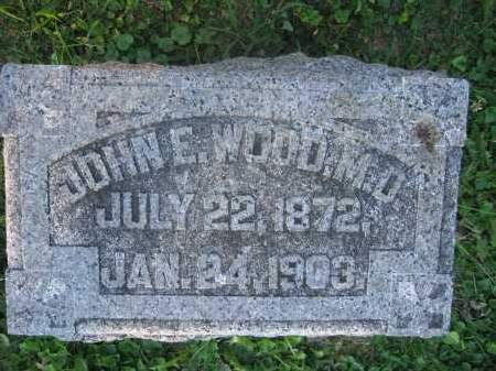 WOOD, JOHN E. - Union County, Ohio | JOHN E. WOOD - Ohio Gravestone Photos