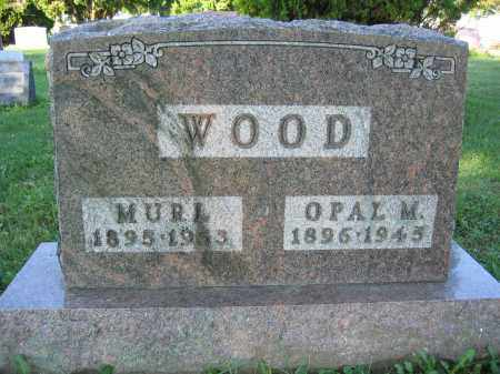 WOOD, OPAL M. - Union County, Ohio | OPAL M. WOOD - Ohio Gravestone Photos