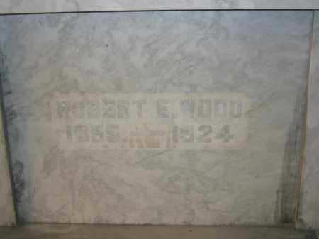 WOOD, ROBERT E. - Union County, Ohio | ROBERT E. WOOD - Ohio Gravestone Photos