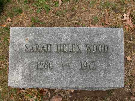 WOOD, SARAH HELEN - Union County, Ohio | SARAH HELEN WOOD - Ohio Gravestone Photos