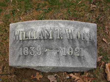WOOD, WILLIAM T. - Union County, Ohio | WILLIAM T. WOOD - Ohio Gravestone Photos