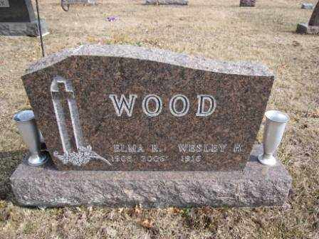 WOOD, ELMA R. - Union County, Ohio | ELMA R. WOOD - Ohio Gravestone Photos