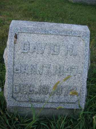 WOODBURN, DAVID H. - Union County, Ohio | DAVID H. WOODBURN - Ohio Gravestone Photos