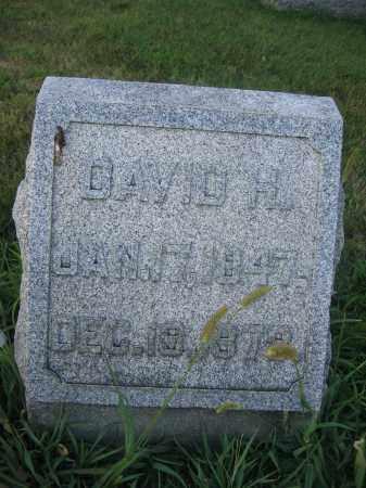 WOODBURN, DAVID H. - Union County, Ohio   DAVID H. WOODBURN - Ohio Gravestone Photos