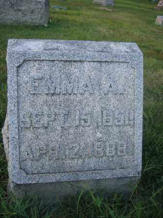 WOODBURN, EMMA A. - Union County, Ohio | EMMA A. WOODBURN - Ohio Gravestone Photos