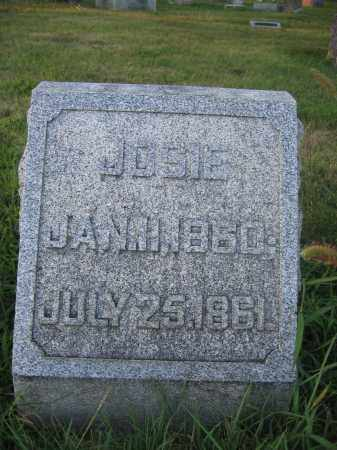 WOODBURN, JOSIE - Union County, Ohio | JOSIE WOODBURN - Ohio Gravestone Photos