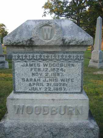 WOODBURN, SARAH J. - Union County, Ohio | SARAH J. WOODBURN - Ohio Gravestone Photos