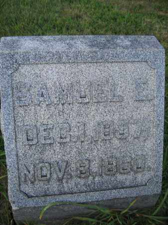 WOODBURN, SAMUEL E. - Union County, Ohio | SAMUEL E. WOODBURN - Ohio Gravestone Photos
