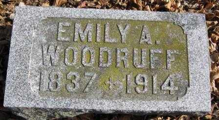 WOODRUFF, EMILY A. - Union County, Ohio | EMILY A. WOODRUFF - Ohio Gravestone Photos