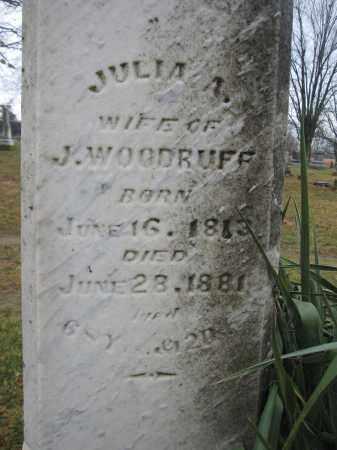 WOODRUFF, JULIA A. - Union County, Ohio | JULIA A. WOODRUFF - Ohio Gravestone Photos