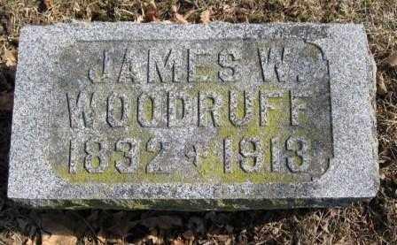 WOODRUFF, JAMES W. - Union County, Ohio | JAMES W. WOODRUFF - Ohio Gravestone Photos