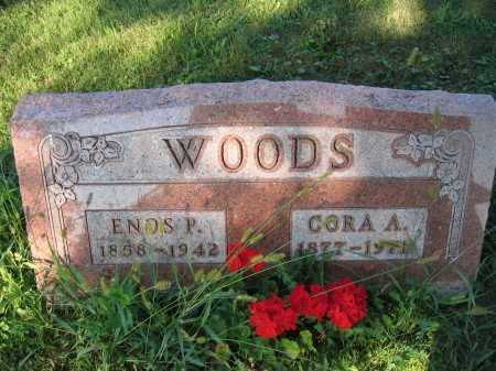 WOODS, CORA A. - Union County, Ohio | CORA A. WOODS - Ohio Gravestone Photos
