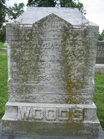 WOODS, GEORGE H. - Union County, Ohio | GEORGE H. WOODS - Ohio Gravestone Photos