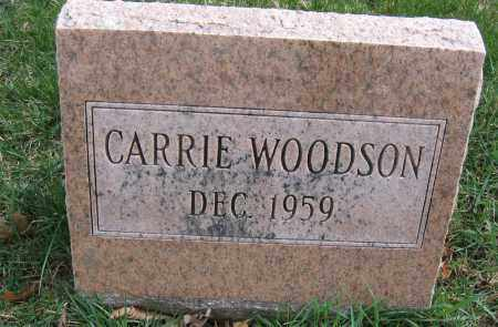 WOODSON, CARRIE - Union County, Ohio | CARRIE WOODSON - Ohio Gravestone Photos