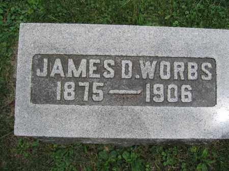 WORBS, JAMES D. - Union County, Ohio | JAMES D. WORBS - Ohio Gravestone Photos