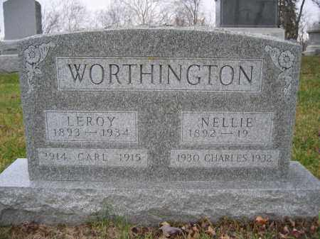 WORTHINGTON, NELLIE - Union County, Ohio | NELLIE WORTHINGTON - Ohio Gravestone Photos