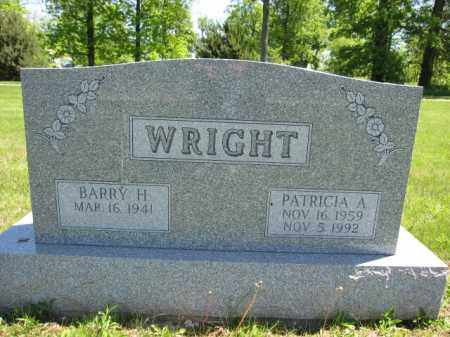 WRIGHT, BARRY H. - Union County, Ohio | BARRY H. WRIGHT - Ohio Gravestone Photos