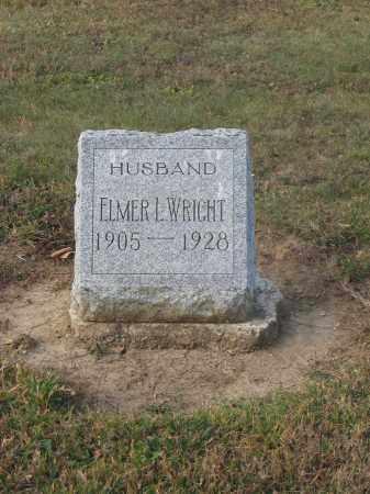 WRIGHT, ELMER L. - Union County, Ohio | ELMER L. WRIGHT - Ohio Gravestone Photos