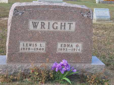 WRIGHT, EDNA O. - Union County, Ohio | EDNA O. WRIGHT - Ohio Gravestone Photos