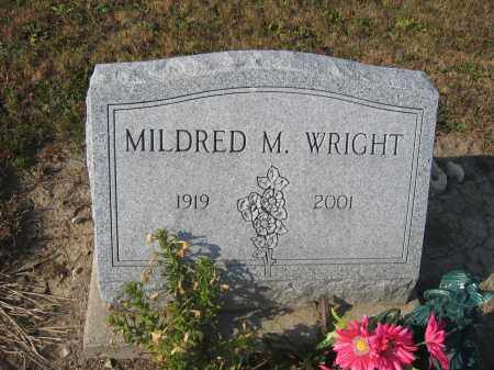 WRIGHT, MILDRED M. - Union County, Ohio | MILDRED M. WRIGHT - Ohio Gravestone Photos