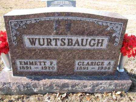 WURTSBAUGH, CLARICE A. - Union County, Ohio | CLARICE A. WURTSBAUGH - Ohio Gravestone Photos