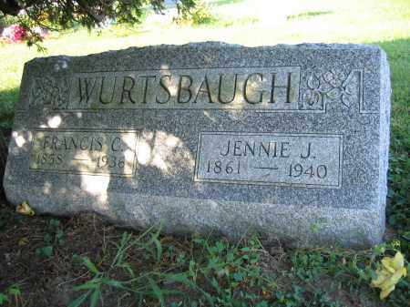 WURTSBAUGH, FRANCIS C. - Union County, Ohio | FRANCIS C. WURTSBAUGH - Ohio Gravestone Photos
