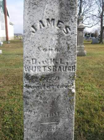 WURTSBAUGH, JAMES - Union County, Ohio | JAMES WURTSBAUGH - Ohio Gravestone Photos