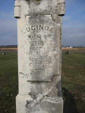 WURTSBAUGH, LUCINDA SPIVEY - Union County, Ohio | LUCINDA SPIVEY WURTSBAUGH - Ohio Gravestone Photos