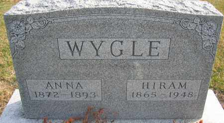 WYGLE, HIRAM - Union County, Ohio | HIRAM WYGLE - Ohio Gravestone Photos