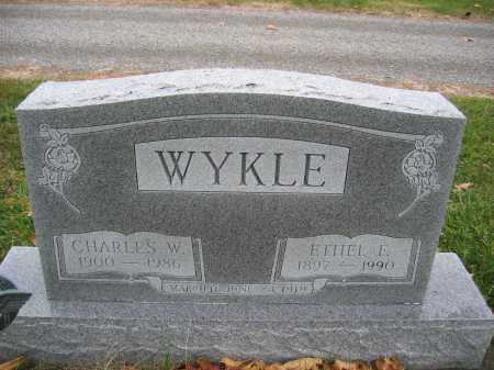 WYKLE, CHARLES W. - Union County, Ohio | CHARLES W. WYKLE - Ohio Gravestone Photos