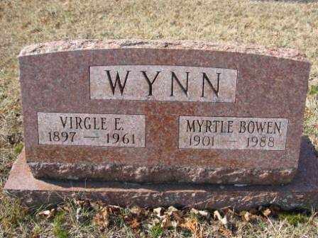 WYNN, VIRGLE E. - Union County, Ohio | VIRGLE E. WYNN - Ohio Gravestone Photos