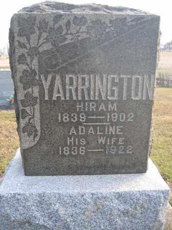 YARRINGTON, HIRAM - Union County, Ohio | HIRAM YARRINGTON - Ohio Gravestone Photos