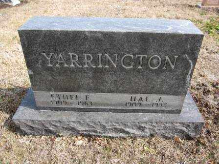 YARRINGTON, HAL J. - Union County, Ohio | HAL J. YARRINGTON - Ohio Gravestone Photos